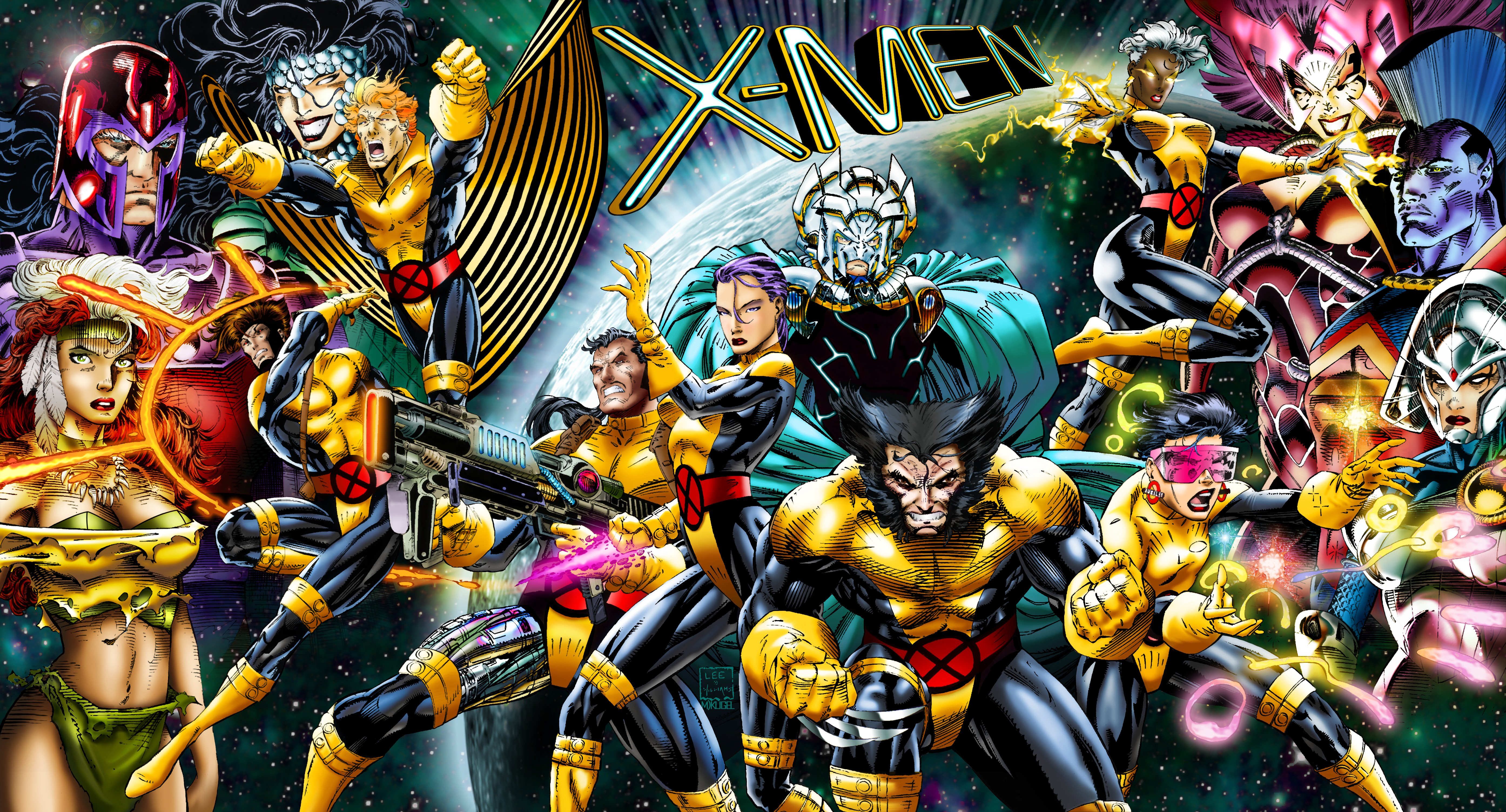 X-MEN Superhero Marvel Action Adventure Sci-fi Warrior