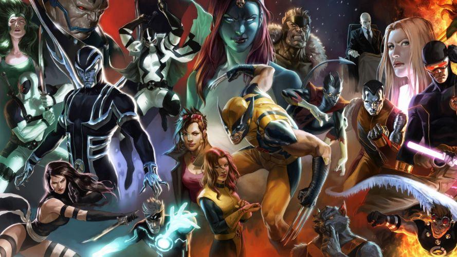 X-MEN superhero marvel action adventure sci-fi warrior fantasy fighting hero xmen comics wallpaper