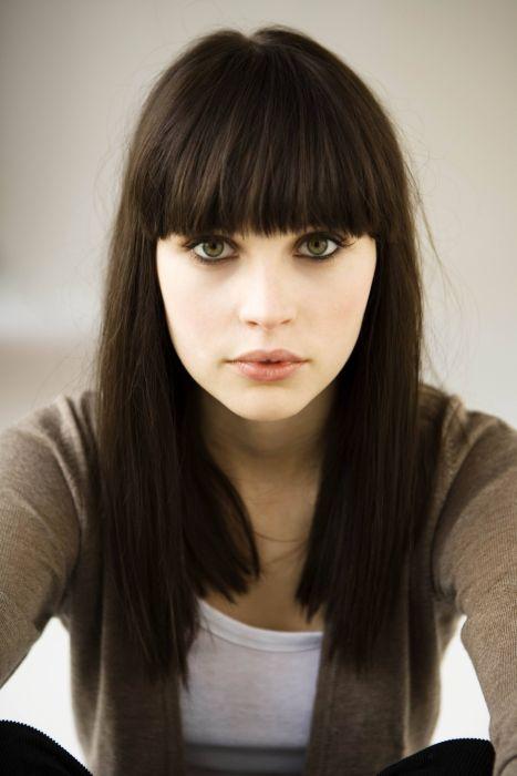 Felicity Jones girl female beautiful brown hair long wallpaper
