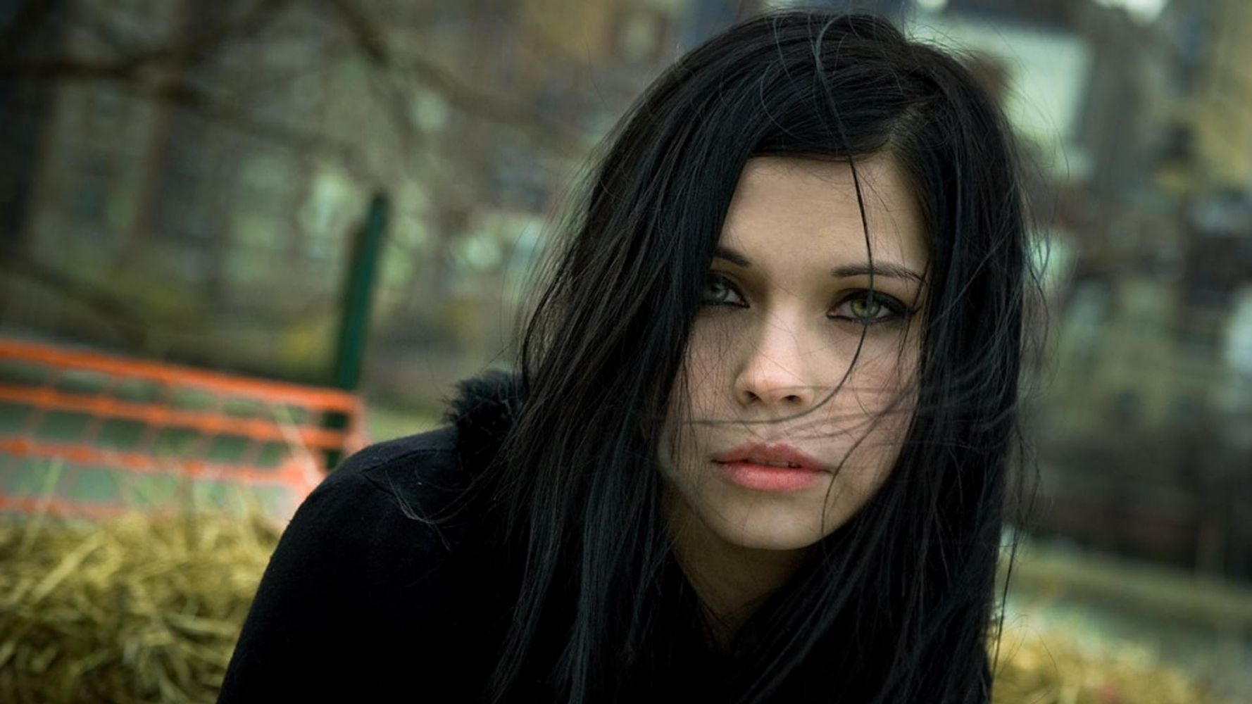 Pretty girls with black hair — pic 4