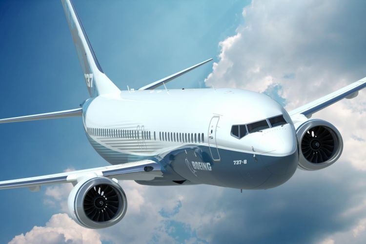 boeing 727 avion comercial wallpaper