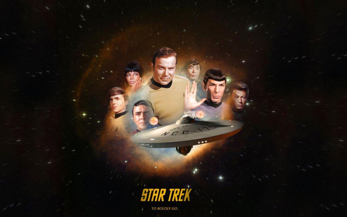 STAR TREK futuristic action adventure sci-fi space thriller mystery spaceship poster wallpaper