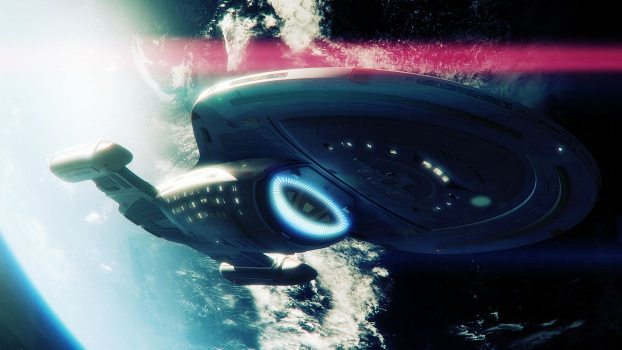 STAR TREK futuristic action adventure sci-fi space thriller mystery spaceship wallpaper