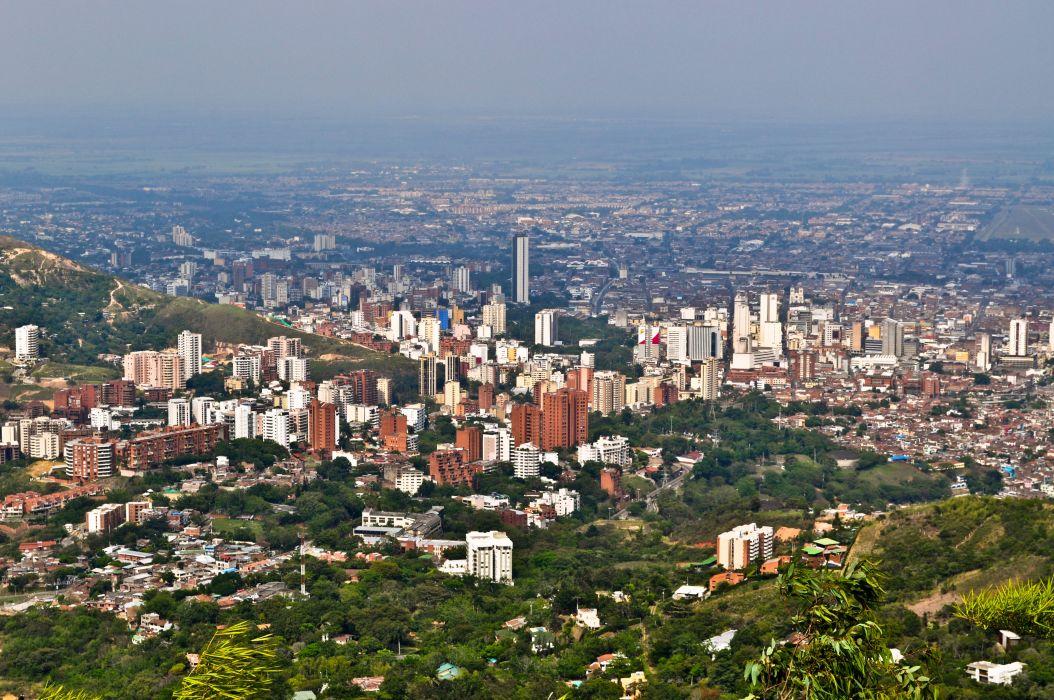 santiago cali colombia sudamerica wallpaper
