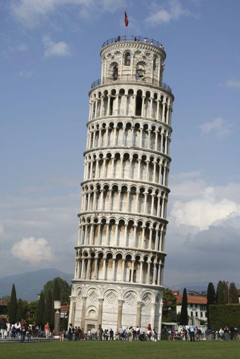 torre inclinada pisa italia wallpaper