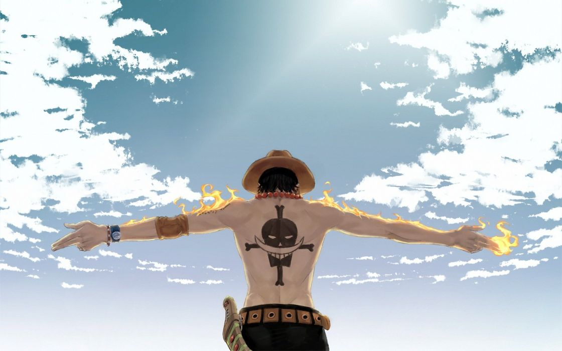 Portgas D Ace one piece wallpaper