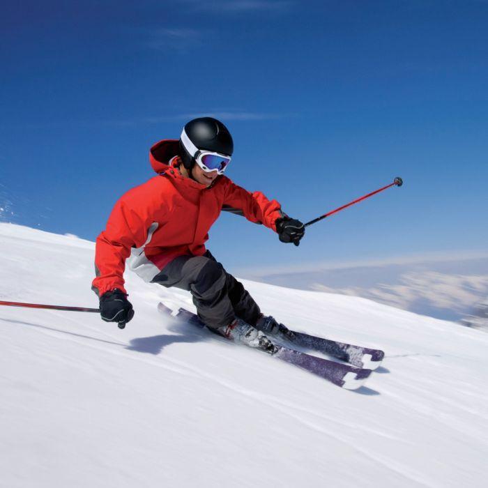 esquiando nieve deporte slalon wallpaper
