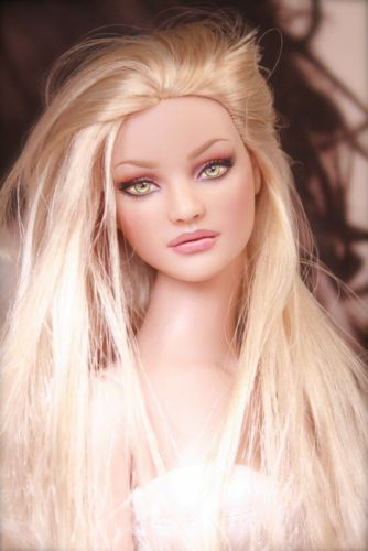 doll toys blonde long hair beauty wallpaper