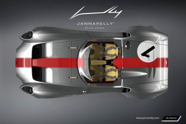Jannarelley Design-1 roadster cars wallpaper