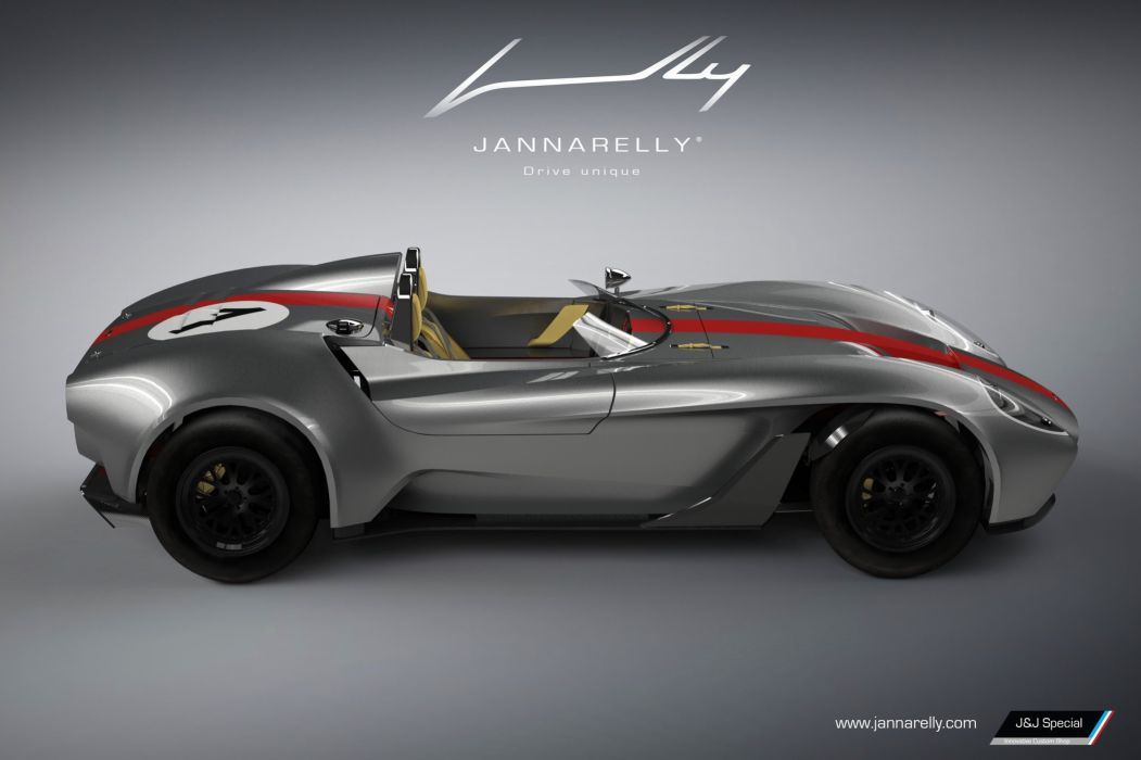 Jannarelley Design-1 roadster cars wallpaper