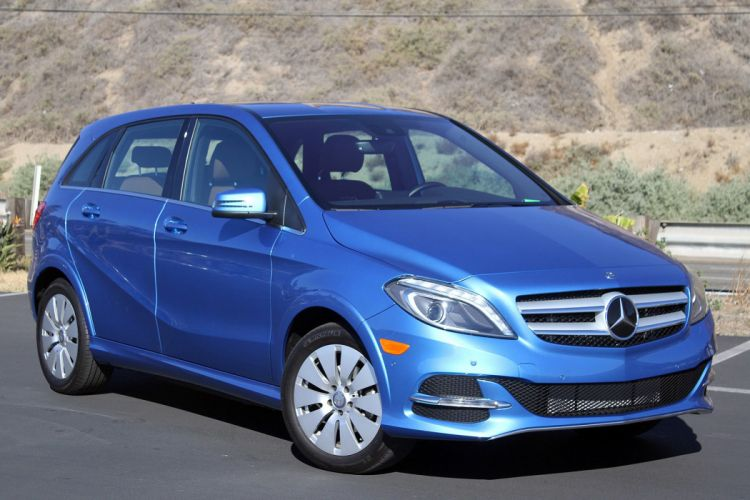 2015 Mercedes B-Class Electric Drive cars wallpaper