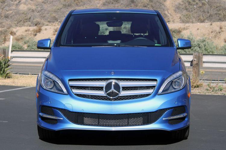 2015 Mercedes B-Class Electric Drive cars wallpaper