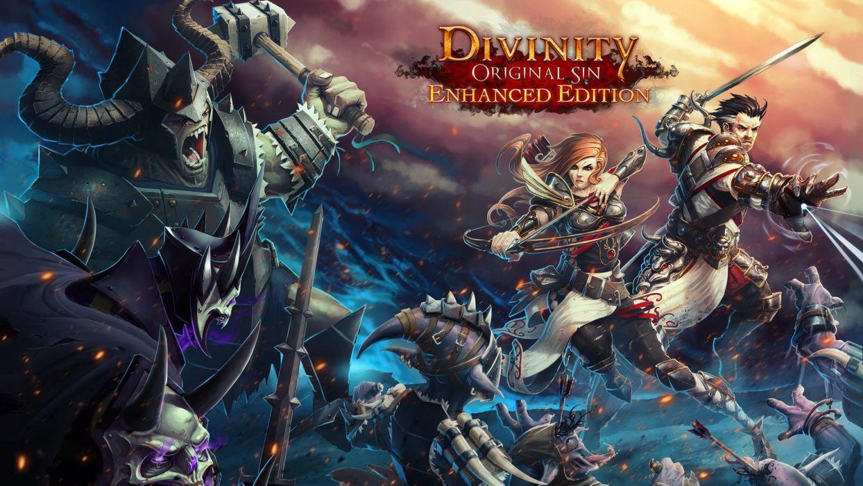 Divinity Original Sin Strategy Fantasy Rpg Sci Fi Fighting 1dosin