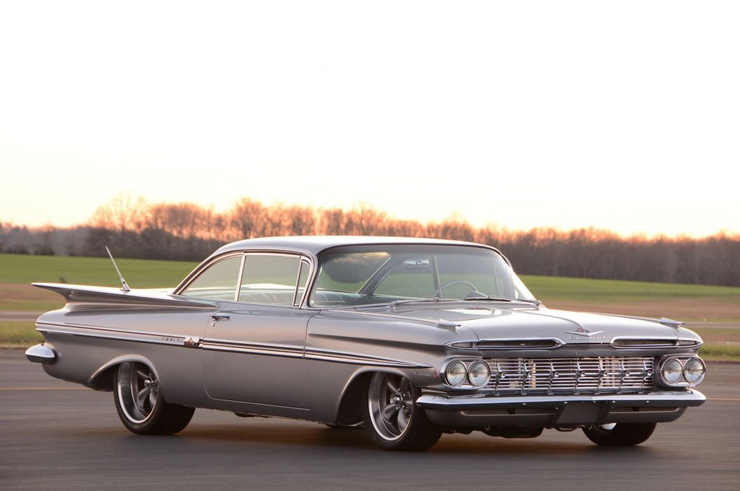 1959 Chevy Impala cars wallpaper