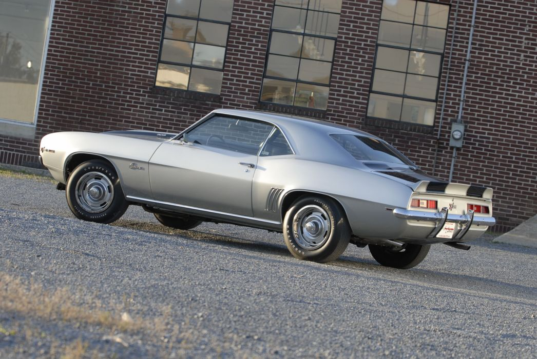 1969 chevy Camaro coupe z-28 cars wallpaper