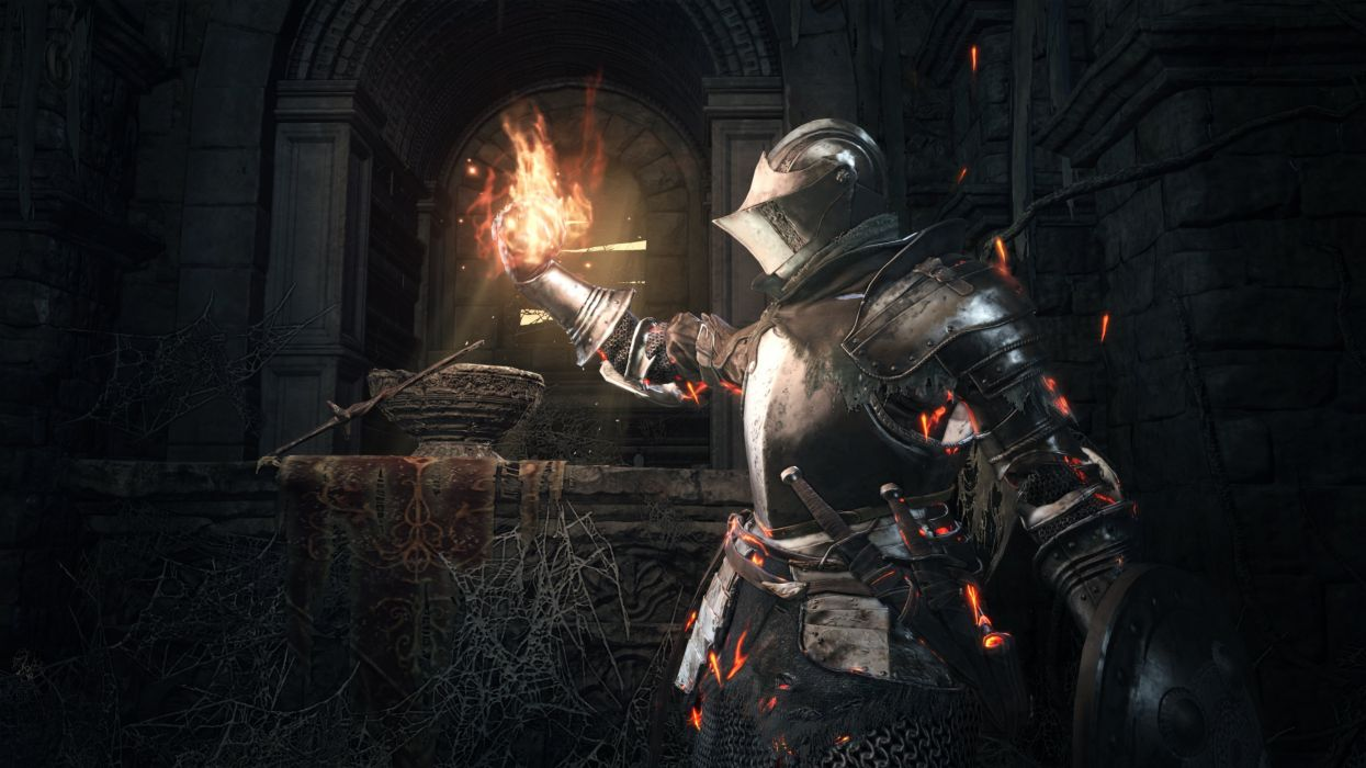 DARK SOULS action rpg fighting fantasy warrior wallpaper