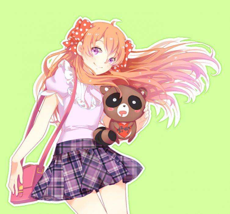 anime girl gekkan shoujo nozaki-kun sakura beautiful long hair anime series cute girl guy beauty dress wallpaper