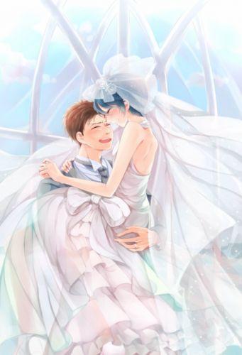 anime girl kashima masayuki dress gekkan shoujo nozaki-kun characters anime series couple love cute girl guy beauty school uniform wallpaper