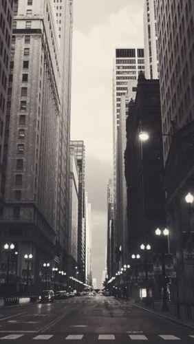city night light black beauty street wallpaper