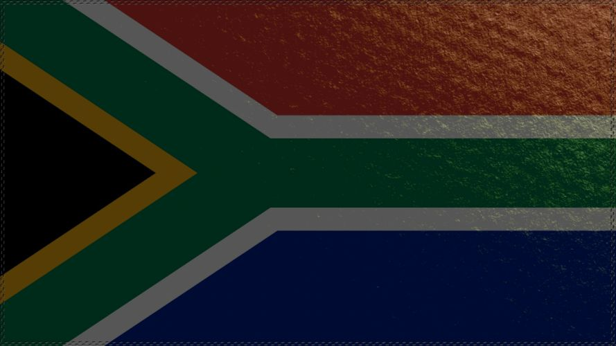 South Africa flag wallpaper