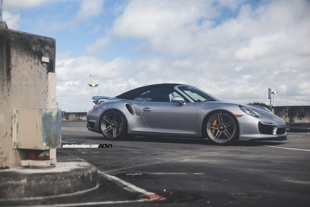 Porsche 991 Turbo S wheels cars adv1 cars convertible wallpaper