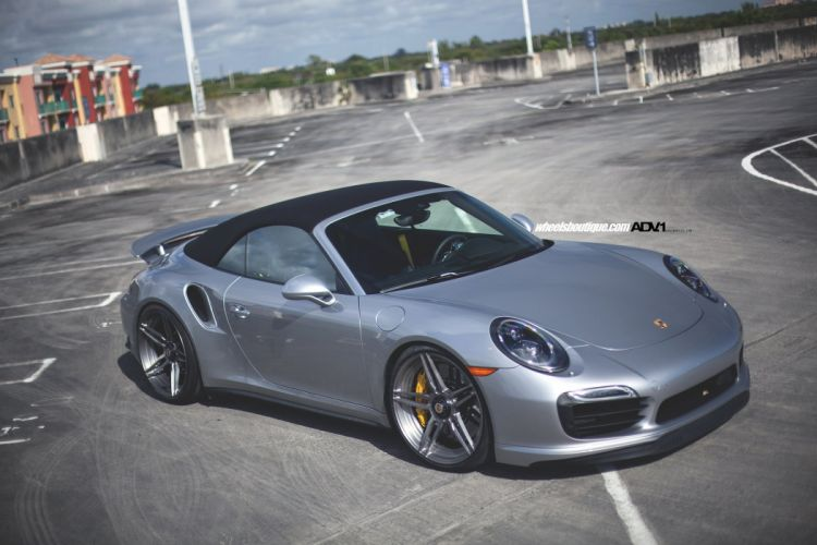 Porsche 991 Turbo S wheels cars adv1 cars convertible wallpaper
