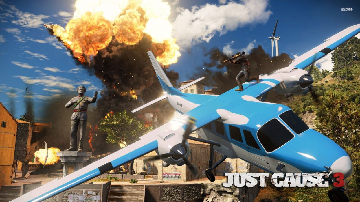 JUST CAUSE action adventure sci-fi crime spy strategy tactical crime cia wallpaper