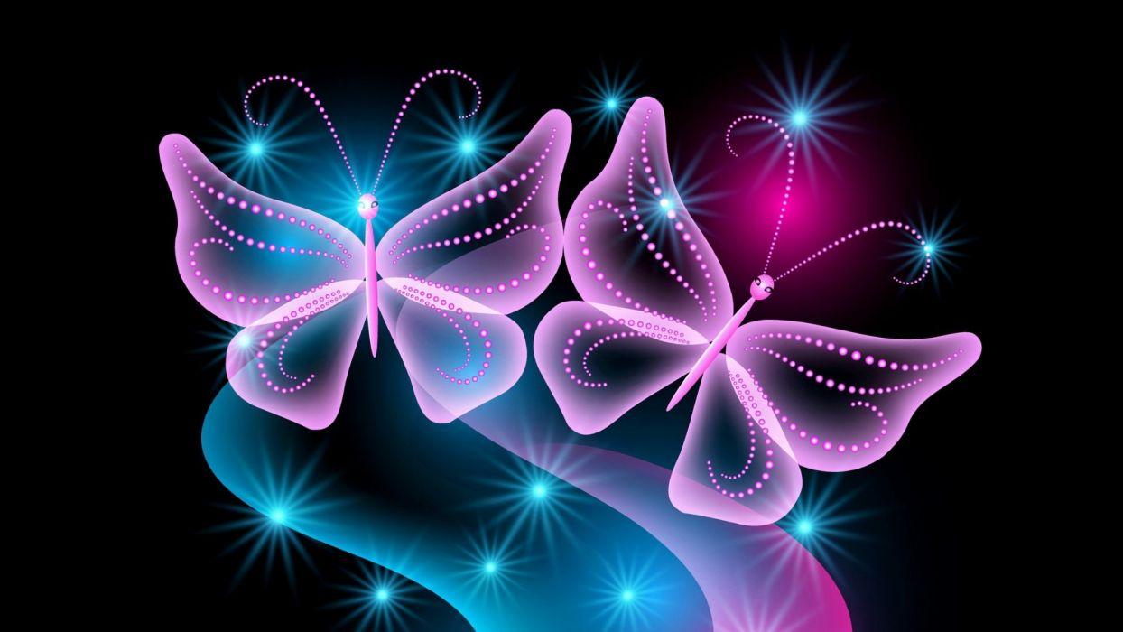 abstracto mariposa 3d wallpaper