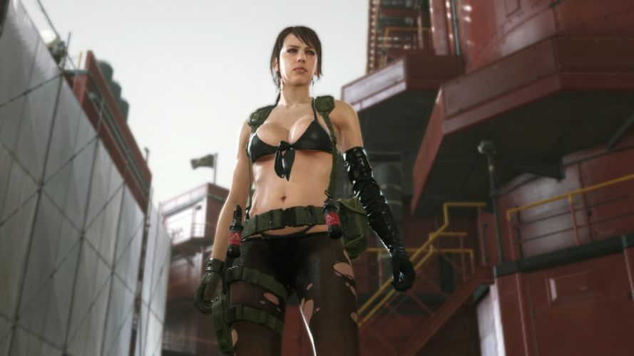 METAL GEAR SOLID tactical shooter action fighting warrior military wallpaper