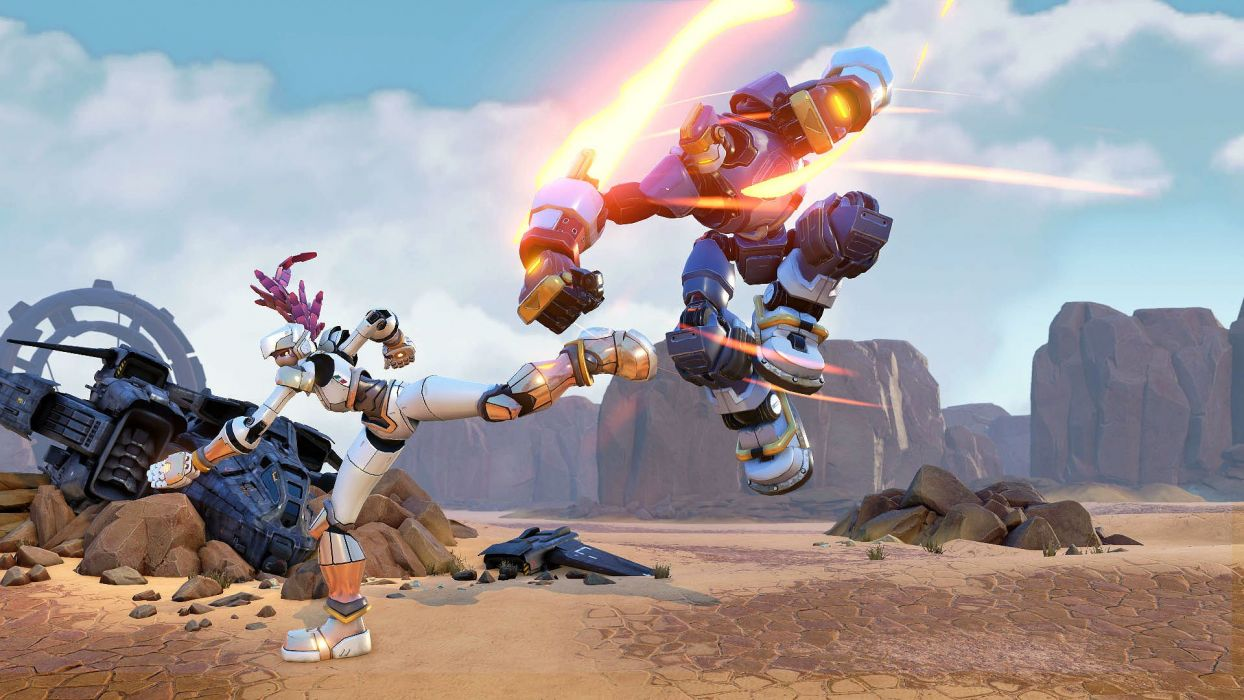 RISING THUNDER fighting action sci-fi mecha robot 1rthu online wallpaper