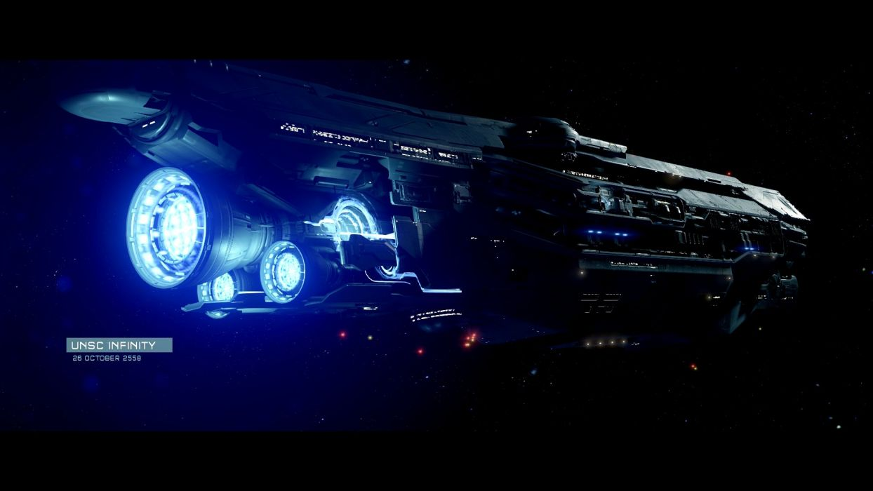HALO 5 GUARDIANS shooter fps action fighting warrior sci-fi futuristic 1haloguardians spaceship wallpaper