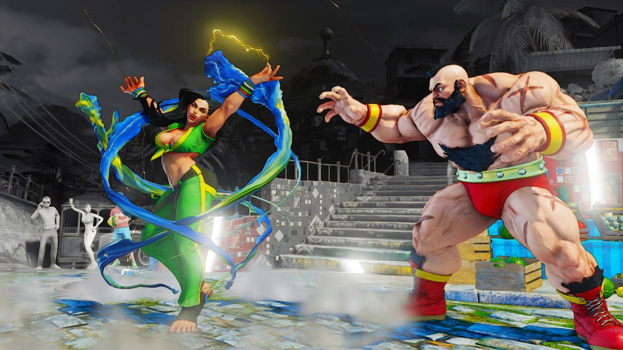 STREET FIGHTER V action fighting 1sfv martial battle warrior wallpaper