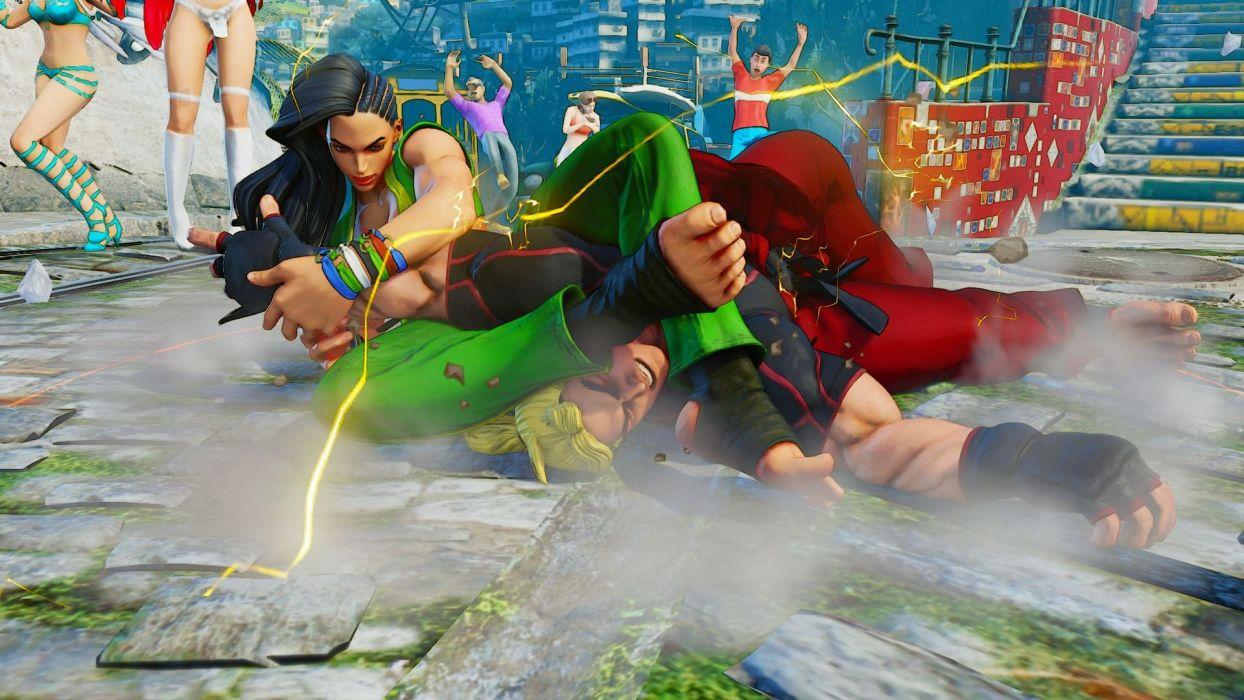 STREET FIGHTER V action fighting 1sfv martial battle warrior wallpaper