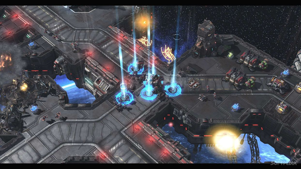 STARCRAFT military sci-fi futuristic rts strategy warrior wallpaper