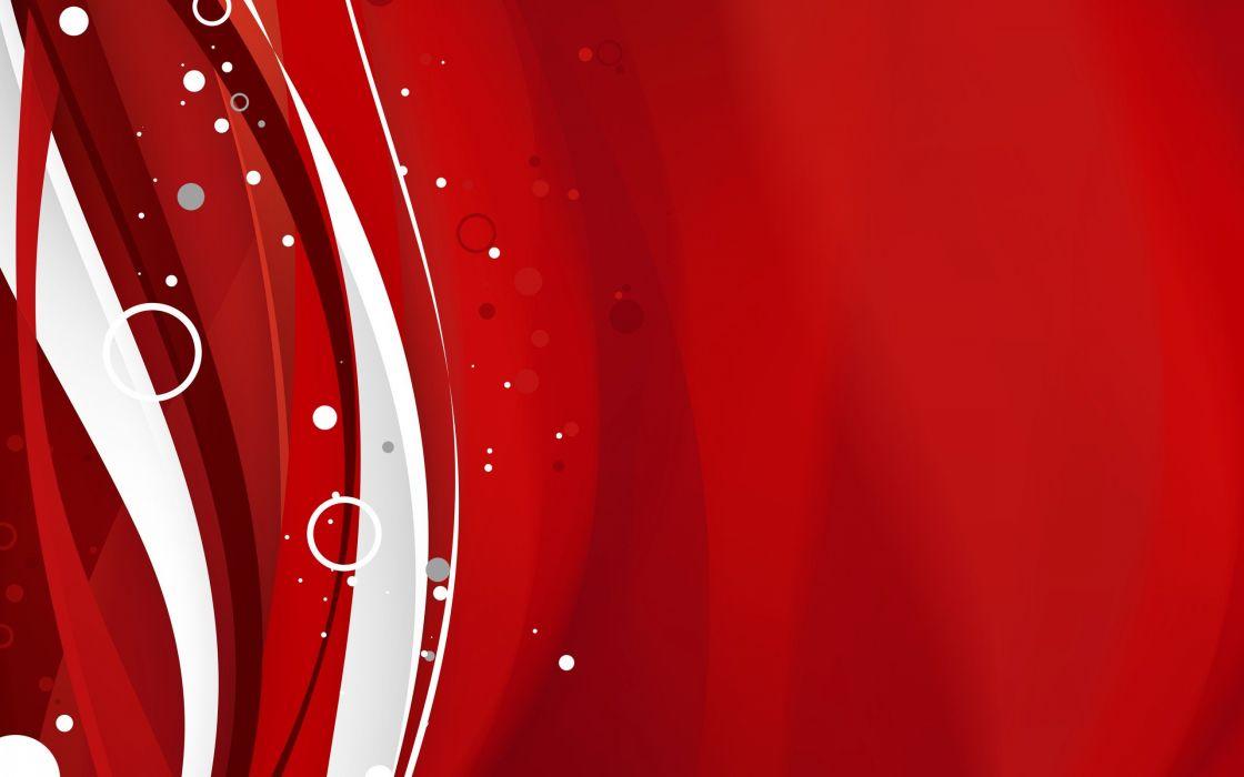 abstracto vector rojo blanco circulos wallpaper