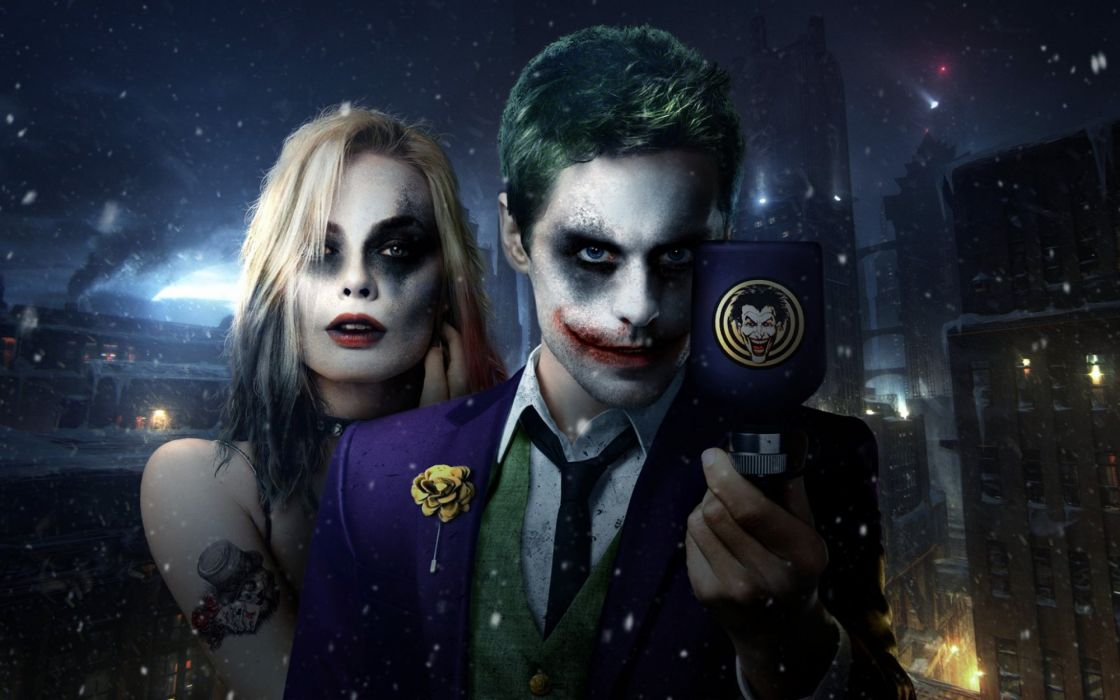 SUICIDE SQUAD action superhero dc-comics d-c action fighting mystery comics harley quinn joker wallpaper
