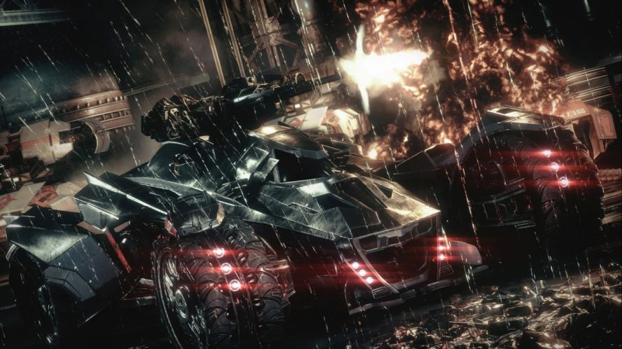 BATMAN ARKHAM KNIGHT superhero action adventure shooter dark warrior sci-fi fantasy poster wallpaper