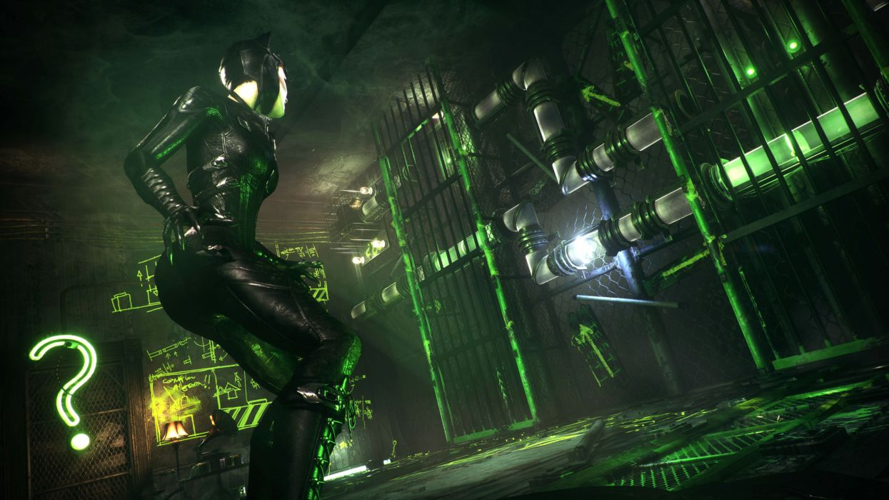 BATMAN ARKHAM KNIGHT superhero action adventure shooter dark warrior sci-fi fantasy wallpaper