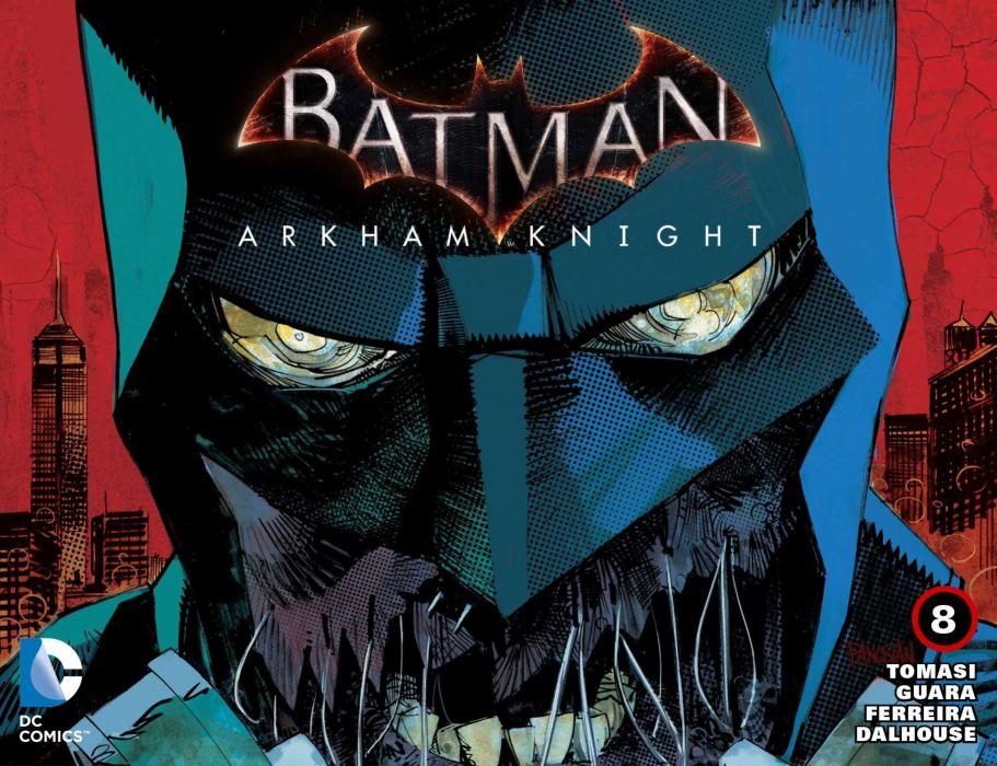 BATMAN ARKHAM KNIGHT superhero action adventure shooter dark warrior sci-fi fantasy poster wallpaper