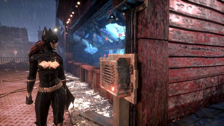 BATMAN ARKHAM KNIGHT superhero action adventure shooter dark warrior sci-fi fantasy wallpaper