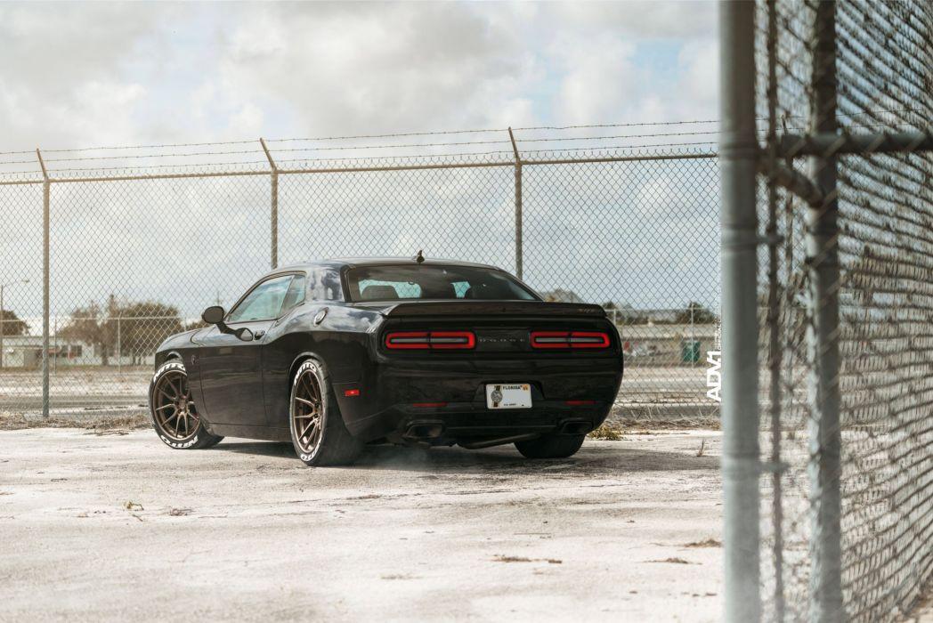 DODGE CHALLENGER SRT HELLCAT cars black wallpaper