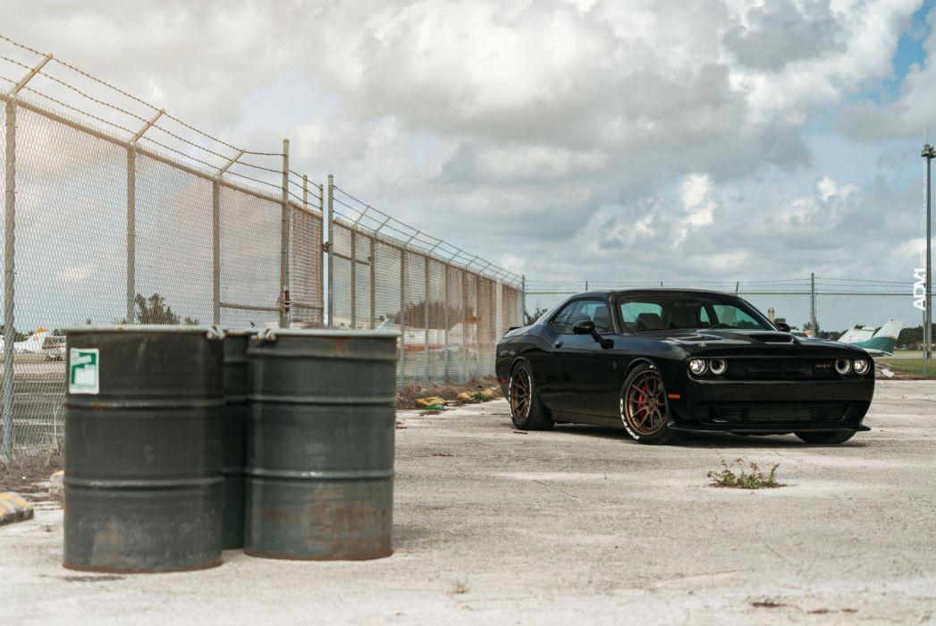 Dodge Challenger Srt Hellcat Cars Black Wallpaper 2400x1605