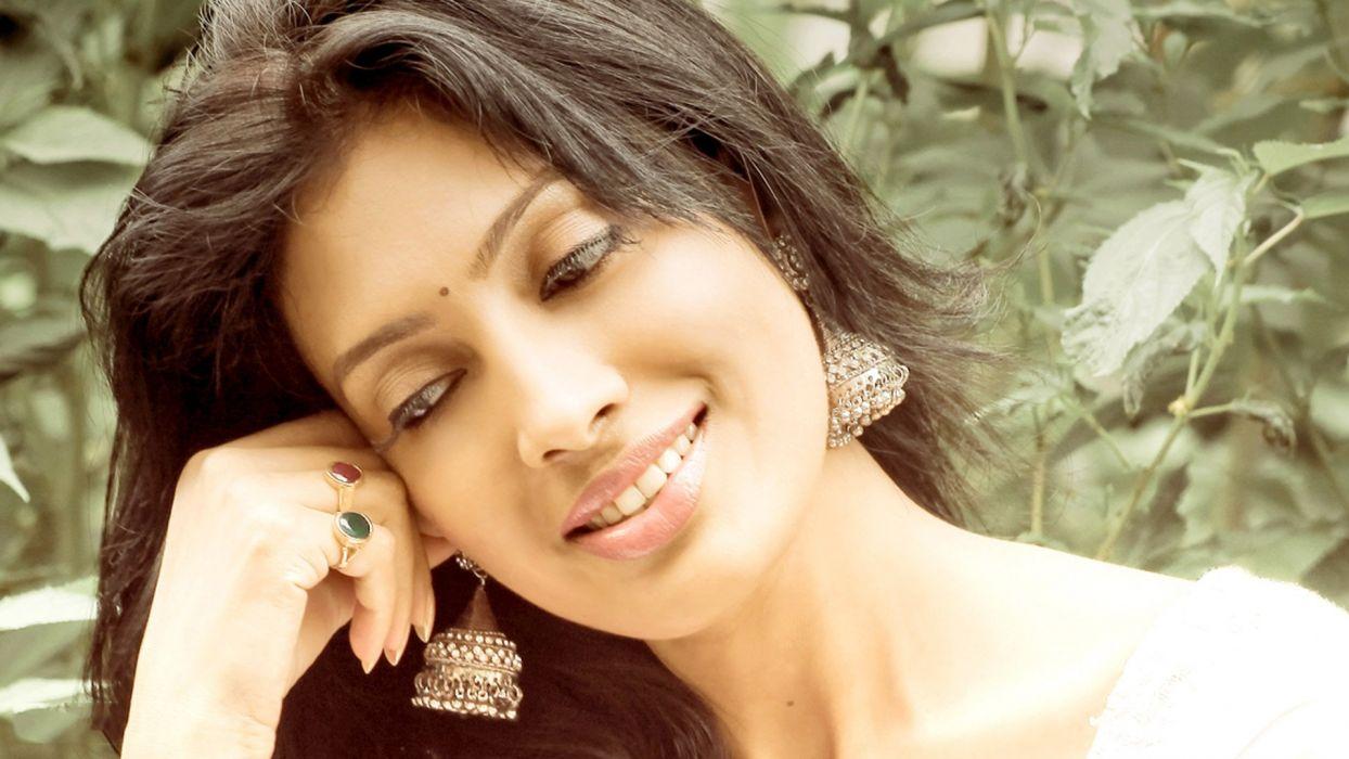 surabhi prabhu bollywood actress model girl beautiful brunette pretty cute beauty sexy hot pose face eyes hair lips smile figure indian  wallpaper