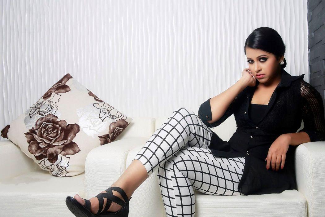 Sadhika Venugopal bollywood actress model girl beautiful brunette pretty cute beauty sexy hot pose face eyes hair lips smile figure indian  wallpaper