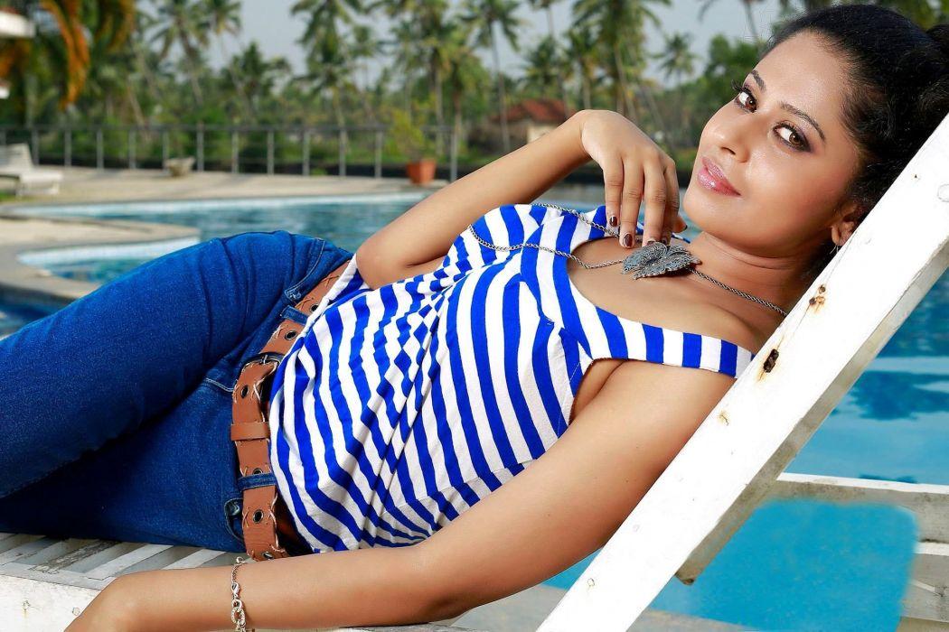 Anjana Menon bollywood actress model girl beautiful brunette pretty cute beauty sexy hot pose face eyes hair lips smile figure indian  wallpaper