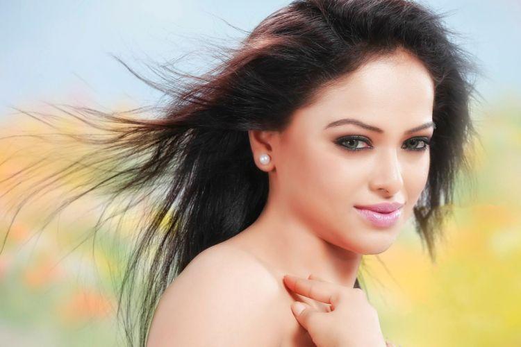 Hridaya bollywood actress model girl beautiful brunette pretty cute beauty sexy hot pose face eyes hair lips smile figure indian wallpaper