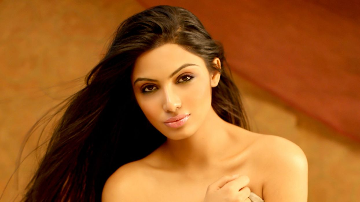 avani modi bollywood actress model girl beautiful brunette pretty cute beauty sexy hot pose face eyes hair lips smile figure indian  wallpaper