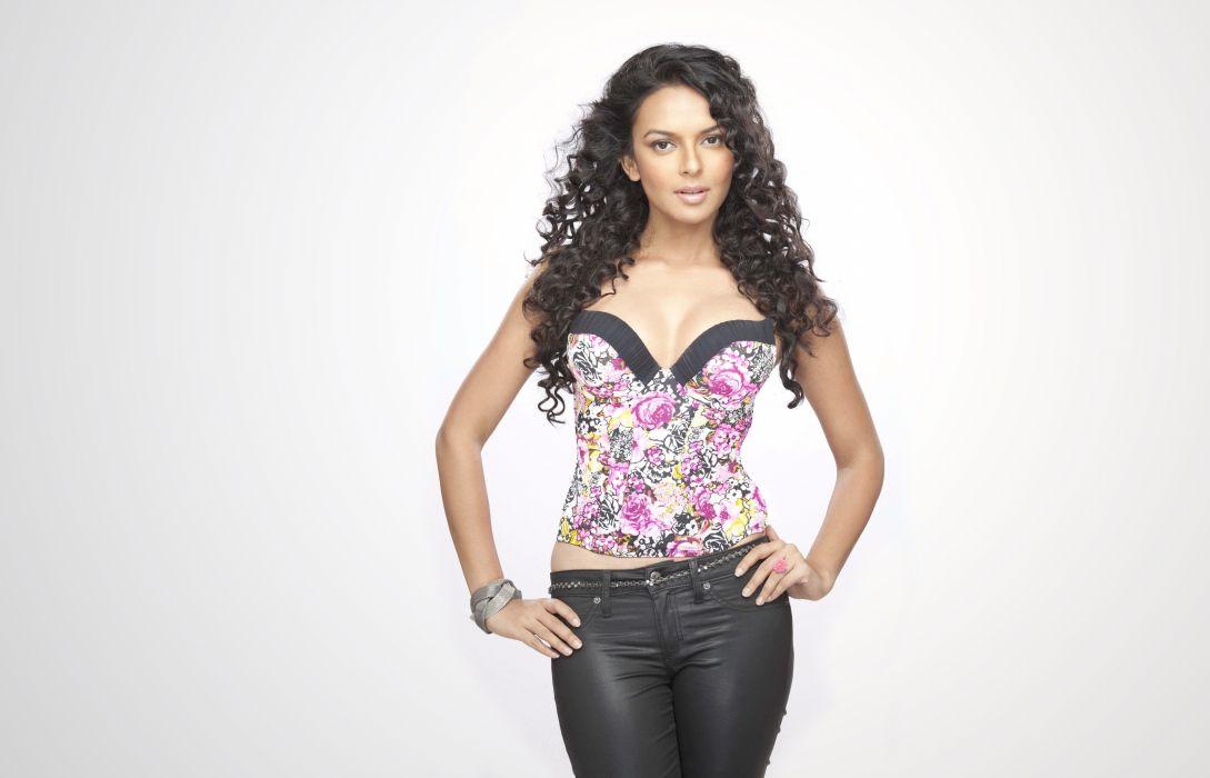 bidita bag bollywood actress model girl beautiful brunette pretty cute beauty sexy hot pose face eyes hair lips smile figure indian  wallpaper
