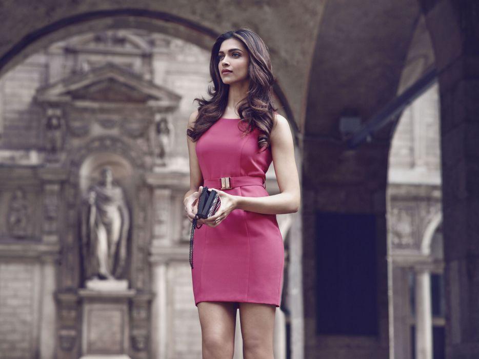 deepika padukone bollywood actress model girl beautiful brunette pretty cute beauty sexy hot pose face eyes hair lips smile figure indian  wallpaper