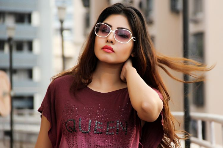 komal jha bollywood actress model girl beautiful brunette pretty cute beauty sexy hot pose face eyes hair lips smile figure indian wallpaper
